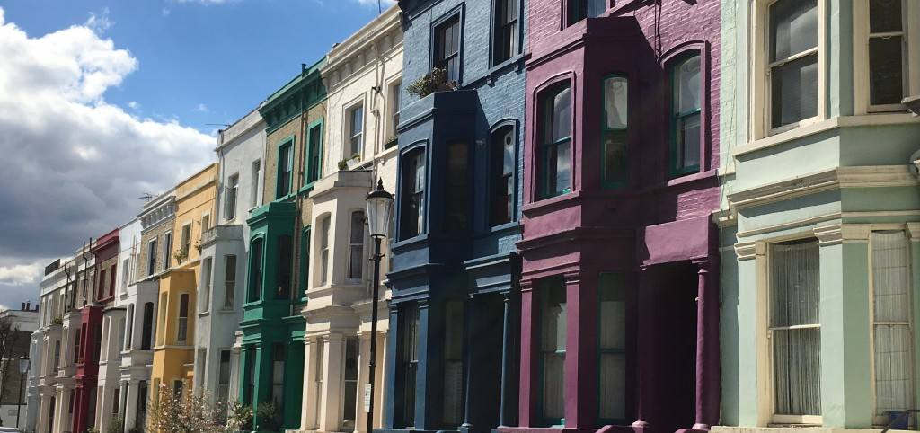 Victorian houses Notting Hill