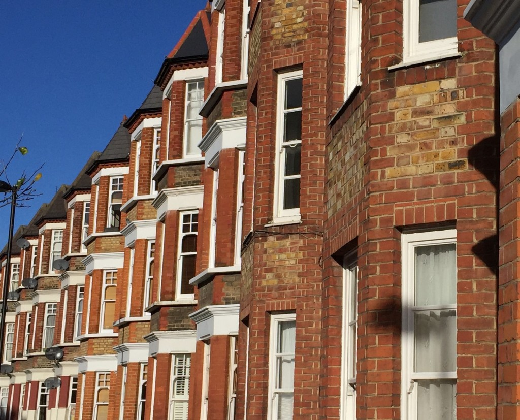 Victorian houses in Clapham