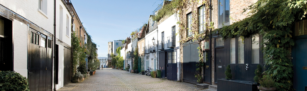 Mews in South Kensington