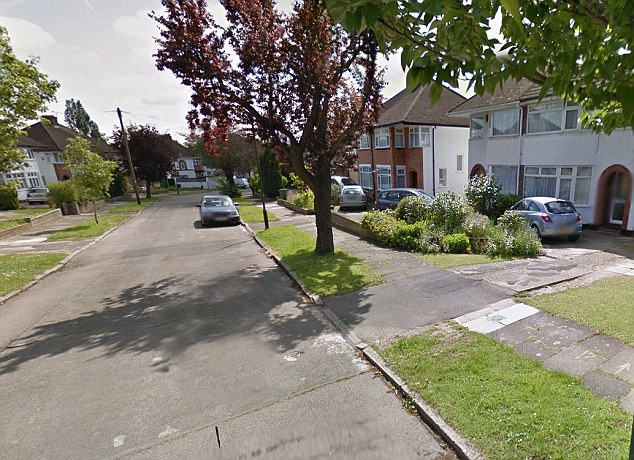 Residential street in Stanmore