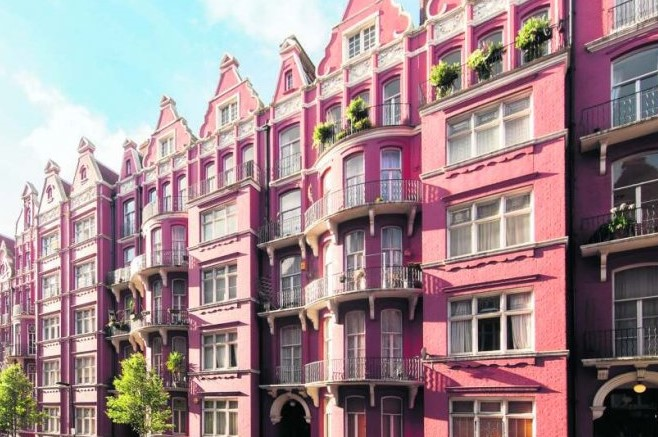 Mansion block Marylebone