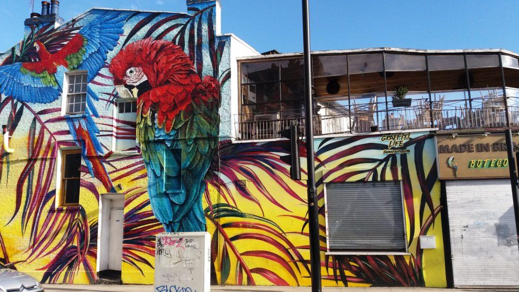 vivre à camden pour son street art