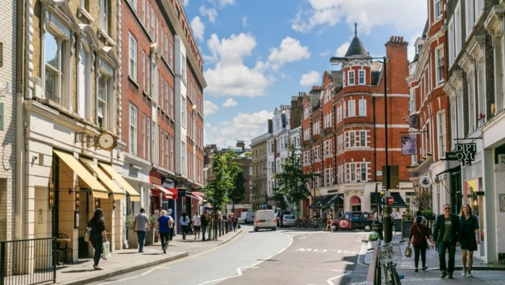 move to marylebone for its village atmosphere