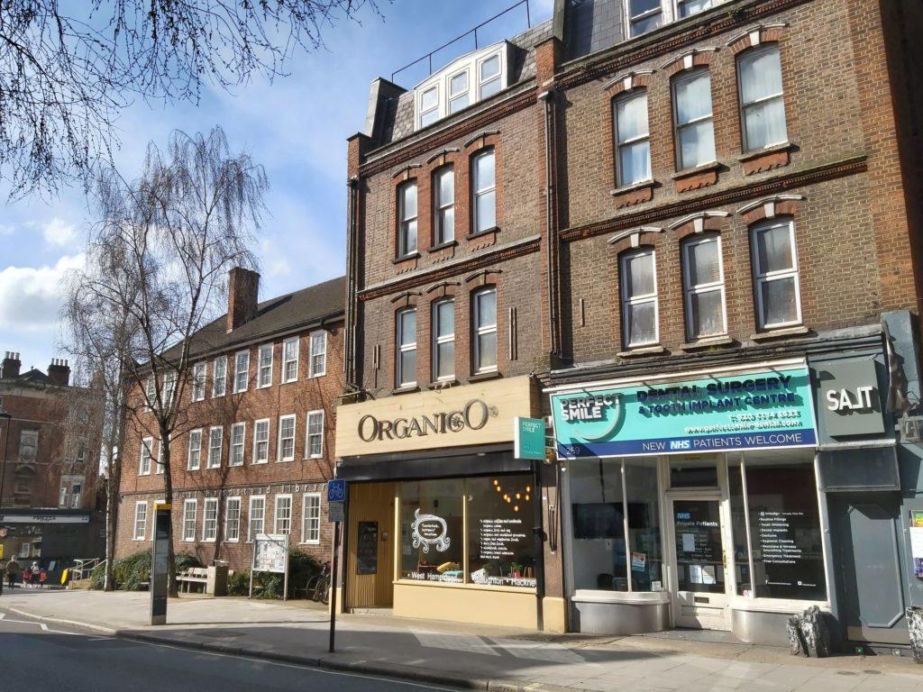 vivre à West Hampstead pour ses boutiques bio