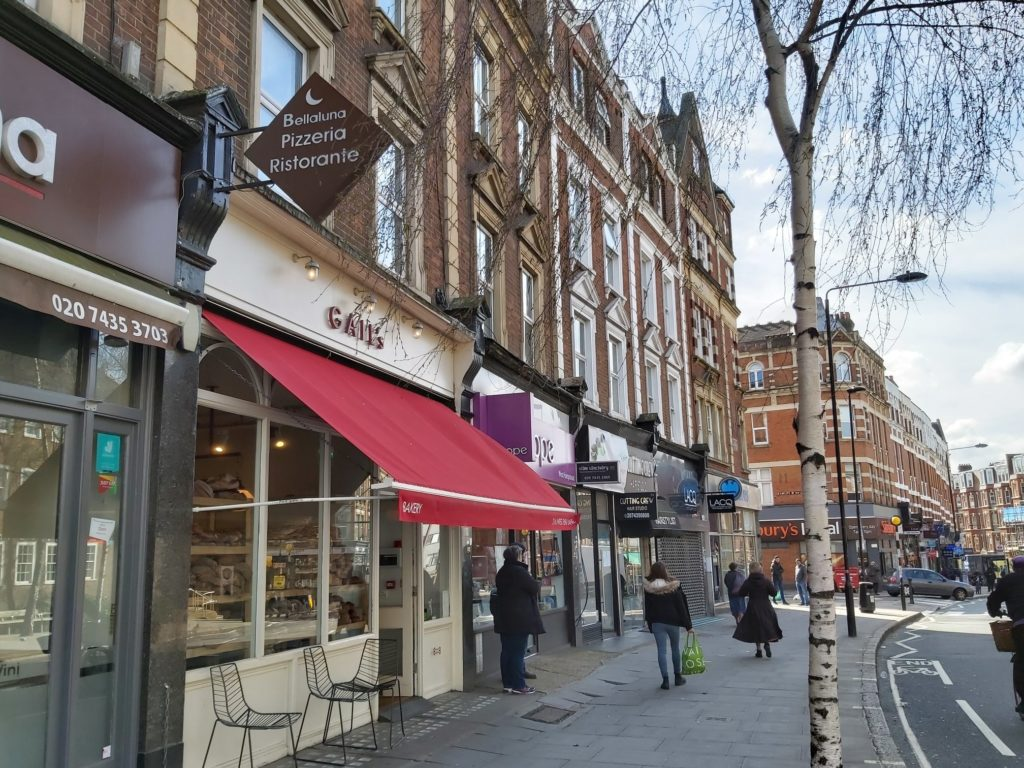 move to west hampstead for its high street and nice shops