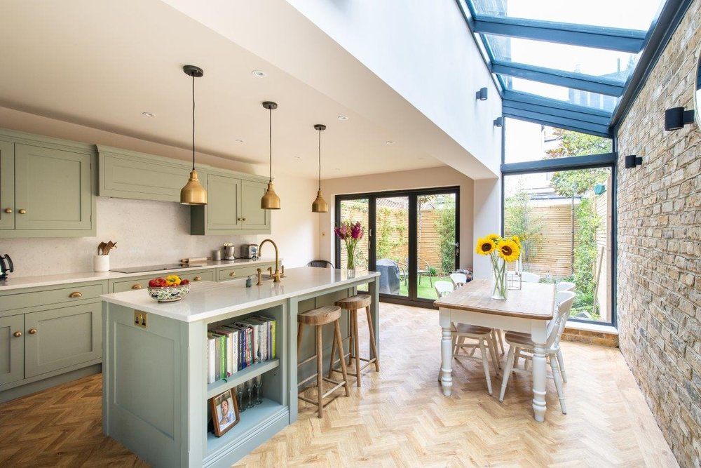 relocation et achat immobilier à Londres converted house in clapham