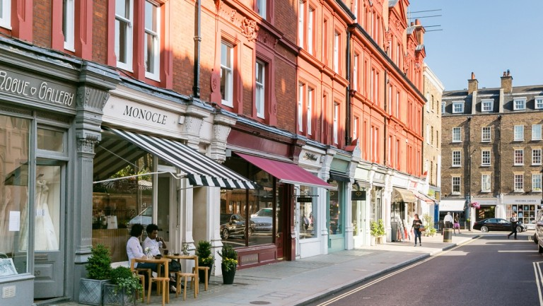 move to Marylebone for its High Street