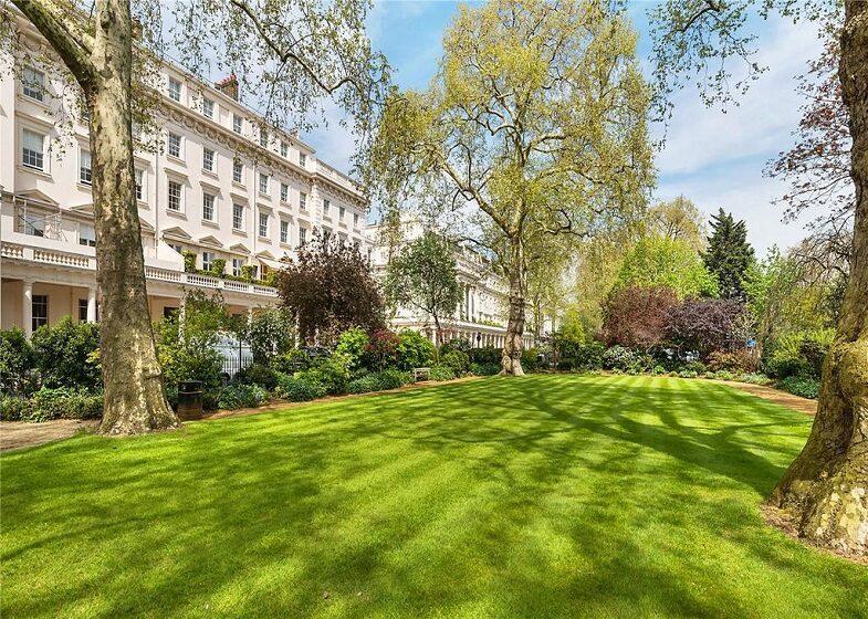 communal garden à Notting Hill