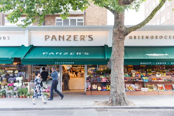 move to St johns wood for its retail shops