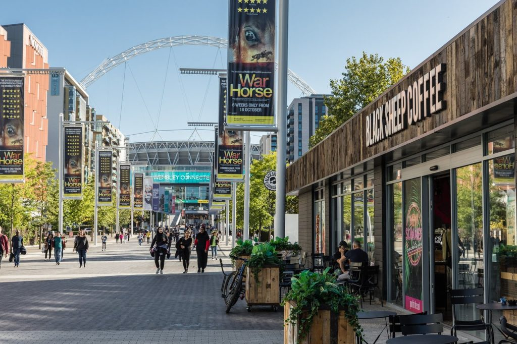 wembley park outlet