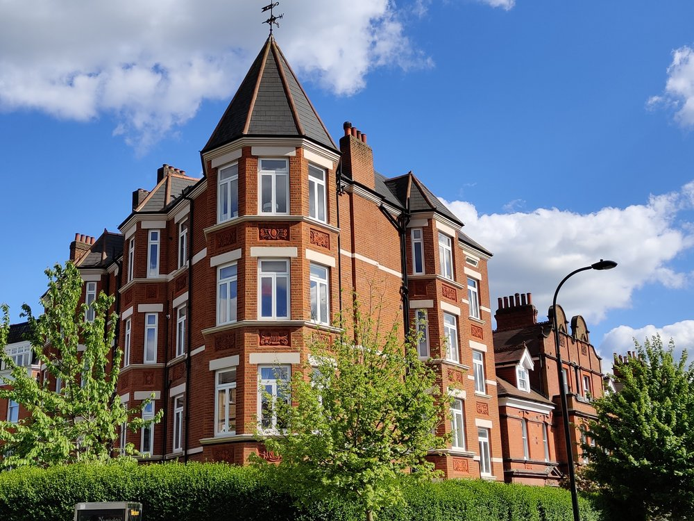 move to west hampstead for the large flats in south hampstead
