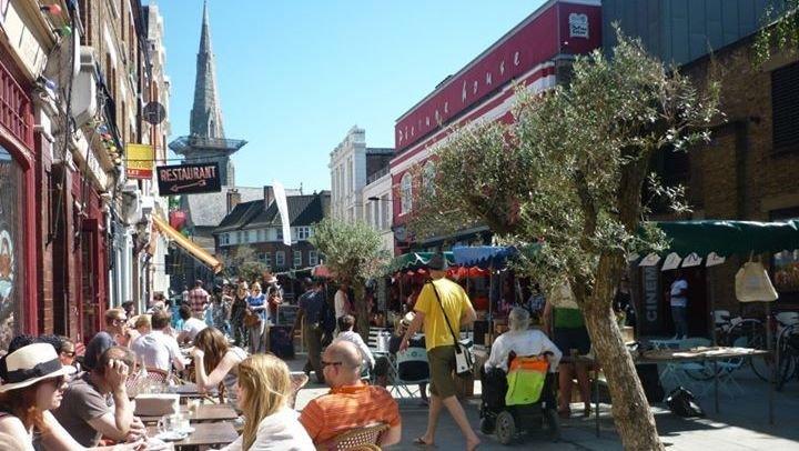 venn street market in clapham