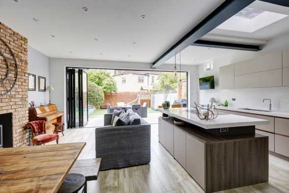 Victorian rear extension in Ealing